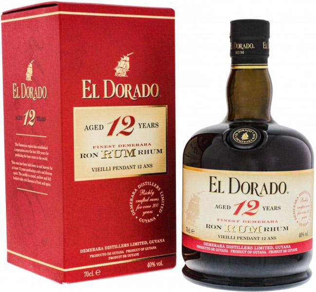 El Dorado 12 Years Old 0,7L