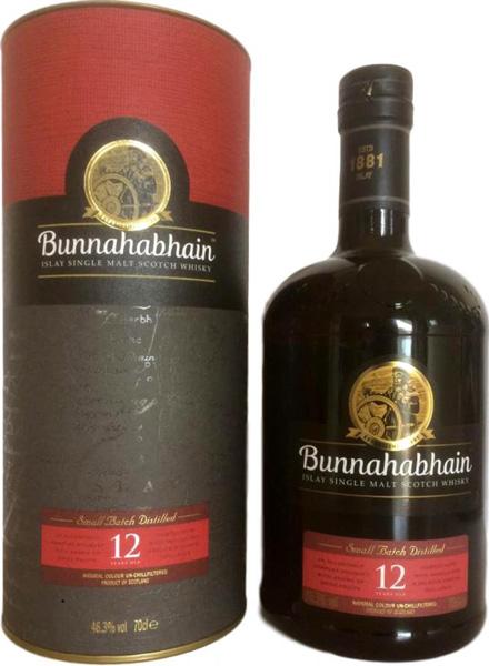 Bunnahabhain 12 Years Old, Small Batch Distilled 0,7L