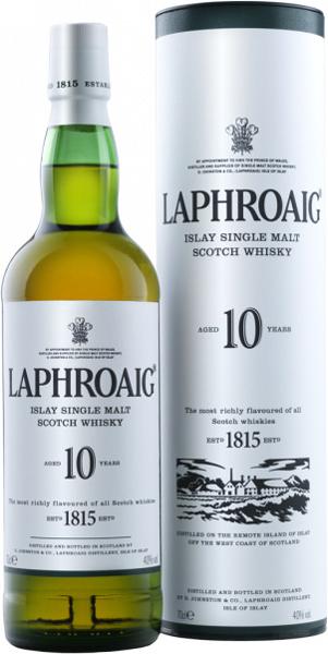 Laphroaig 10 Years Old 1L